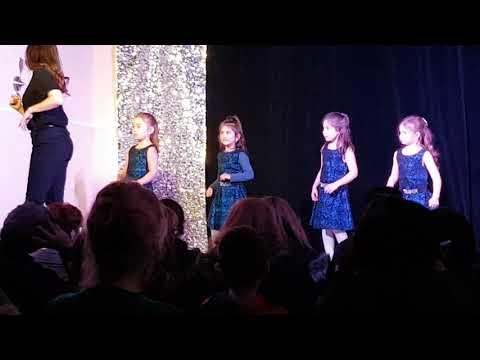 Charlotte's Latin Dance recital