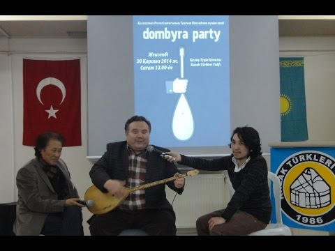 A Dombyra Party in Istanbul for the First President Day of Kazakhstan