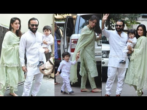 Prince Taimur Ali Khan Diwali Celebrations with parents Kareena Kapoor Khan and Saif Ali Khan