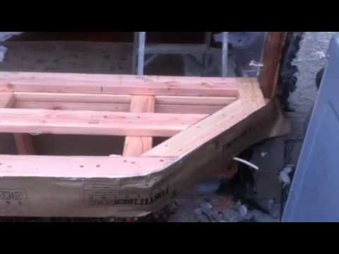 How To Frame A Bay Window Youtube