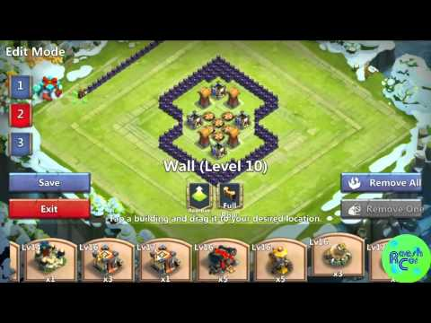 Castle Clash | Best Base Design Townhall 14,15 ,16 ಠ Schloss Konflikt [Deutsch][RaeshCor]