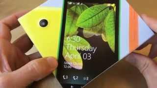 Nokia Lumia 630 - Windows-фон с IPS-экраном - видео обзор