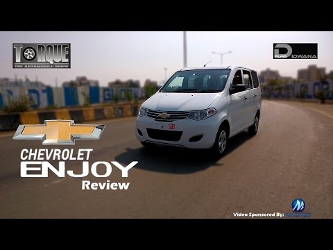 Chevrolet Enjoy MPV Review & Features | Torque - The Automobile Show