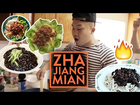 ZHA JIANG MIAN RECIPE (Chinese Fried Sauce Noodle)