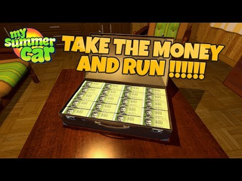 my summer car update take the money and run youtube. Black Bedroom Furniture Sets. Home Design Ideas