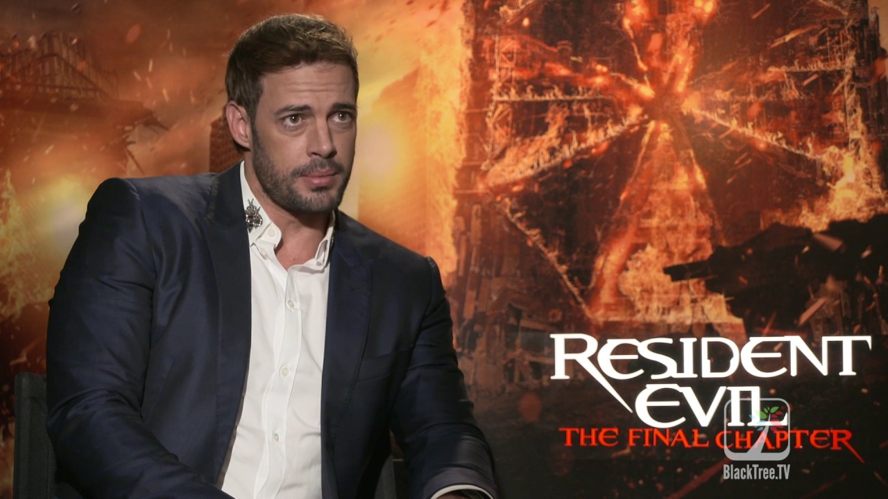 Resident Evil The Final Chapter Interview: William Levy Interview For Resident Evil The Final Chapter