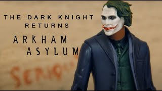 Batman - The Dark Knight Returns - Arkham Asylum (stop motion)