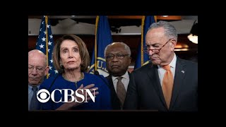 """Pelosi, Schumer slam Trump's """"excuse"""" for bailing on infrastructure"""
