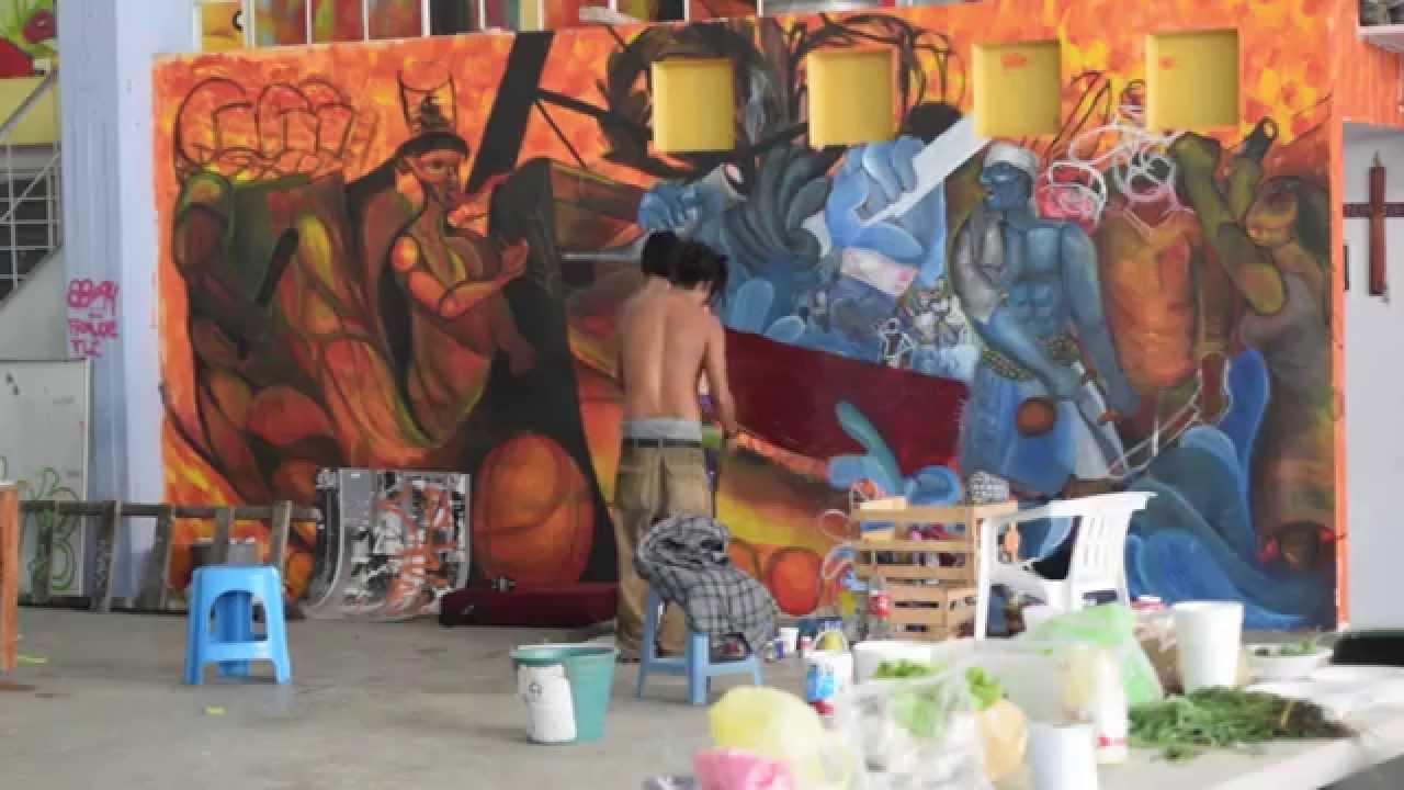 El nuevo muralismo mexicano el muralismo libertario youtube for Muralisme mexicain