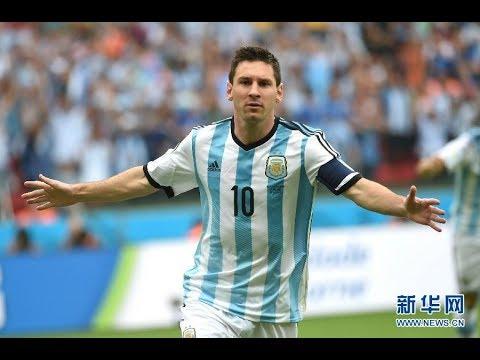 Los goles de Messi en los Mundiales