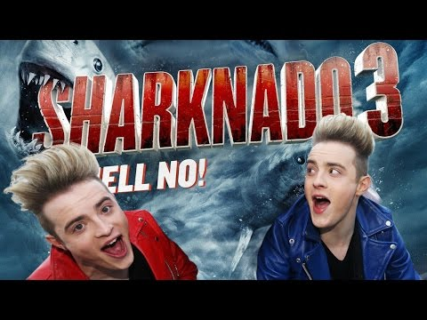 Jedward in Sharknado 3: Oh Hell No! (Acting Debut)