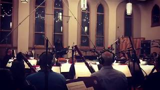 The orchestra recording Evanescence's upcoming project, Synthesis, ...