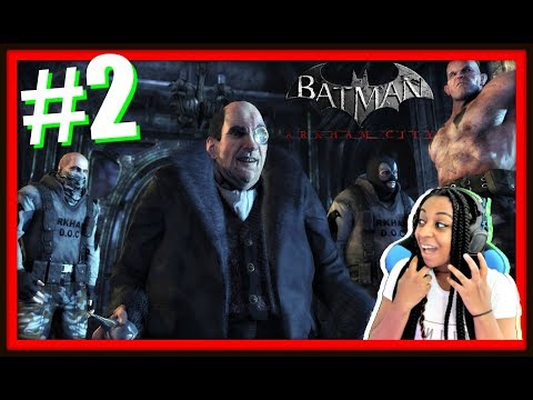 THIS GAME IS SUCH A PUZZLE!!! | BATMAN ARKHAM CITY EPISODE 2 FULL GAMEPLAY!!!