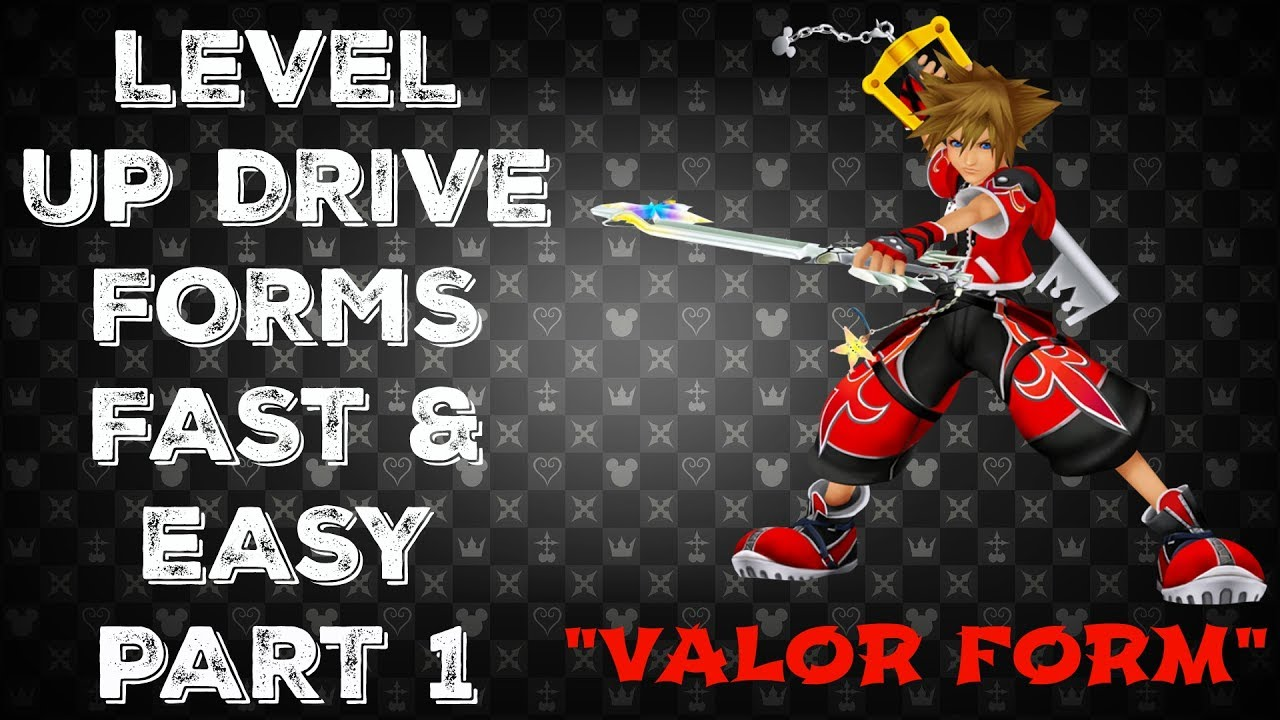 Kingdom Hearts HD 2.5 ReMIX (PS4) - Easy Drive Forms Level Up ...