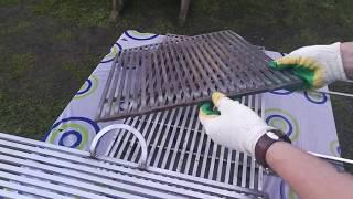видео Решетка для барбекю своими руками: чугунная, из нержавейки
