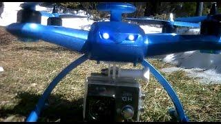 Baixar Aosenma CG035 TESTING RC QUADCOPTER Drone Double GPS DIY