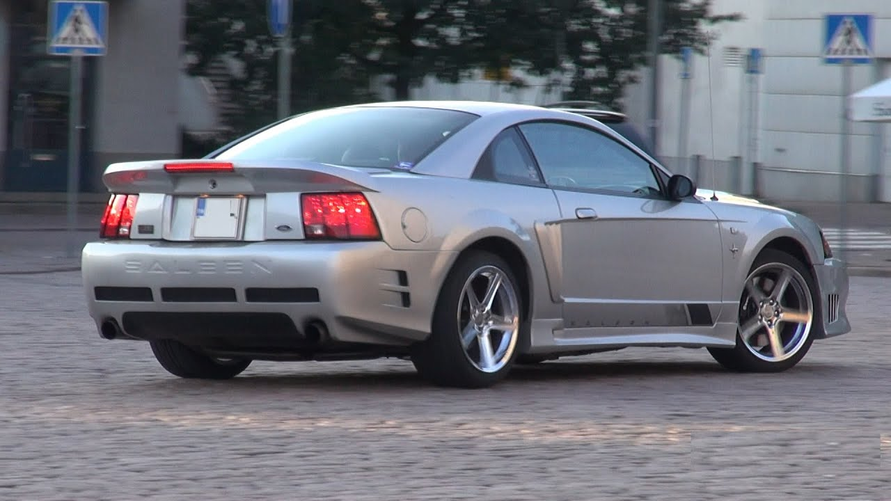 2001 saleen mustang supercharged s281 startups exhaust sound overview