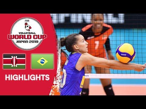KENYA vs. BRAZIL - Highlights | Women's Volleyball World Cup 2019