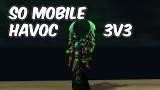 So Mobile - 7.3.5 Havoc Demon Hunter PvP - WoW Legion