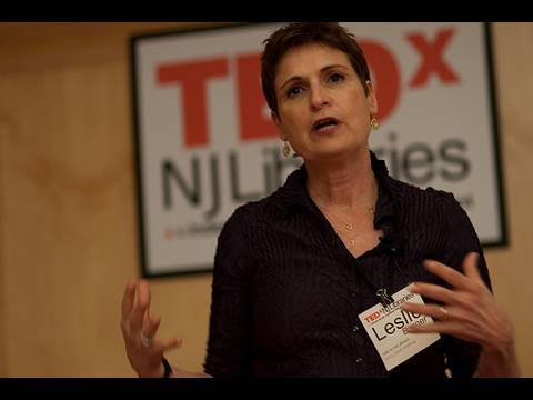 TEDxNJLibraries - Leslie Burger - Agoras, Forums, Living Rooms, and Libraries