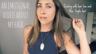 An Emotional Video About MY HAIR // Recovering from Hair Loss and Damage