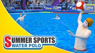 Summer Sports: Water Polo - Game Trailer (Spil Games)
