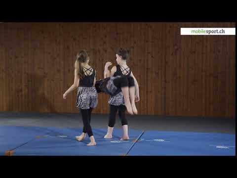 Il circo a scuola: Acrobatica – Capriola in avanti con appiglio