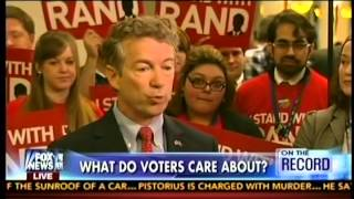 Sen. Rand Paul Appears On the Record with Greta Van Susteren- March 7, 2014