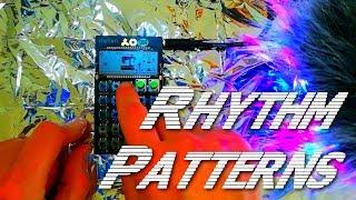 TE PO-12 Rhythm Patterns