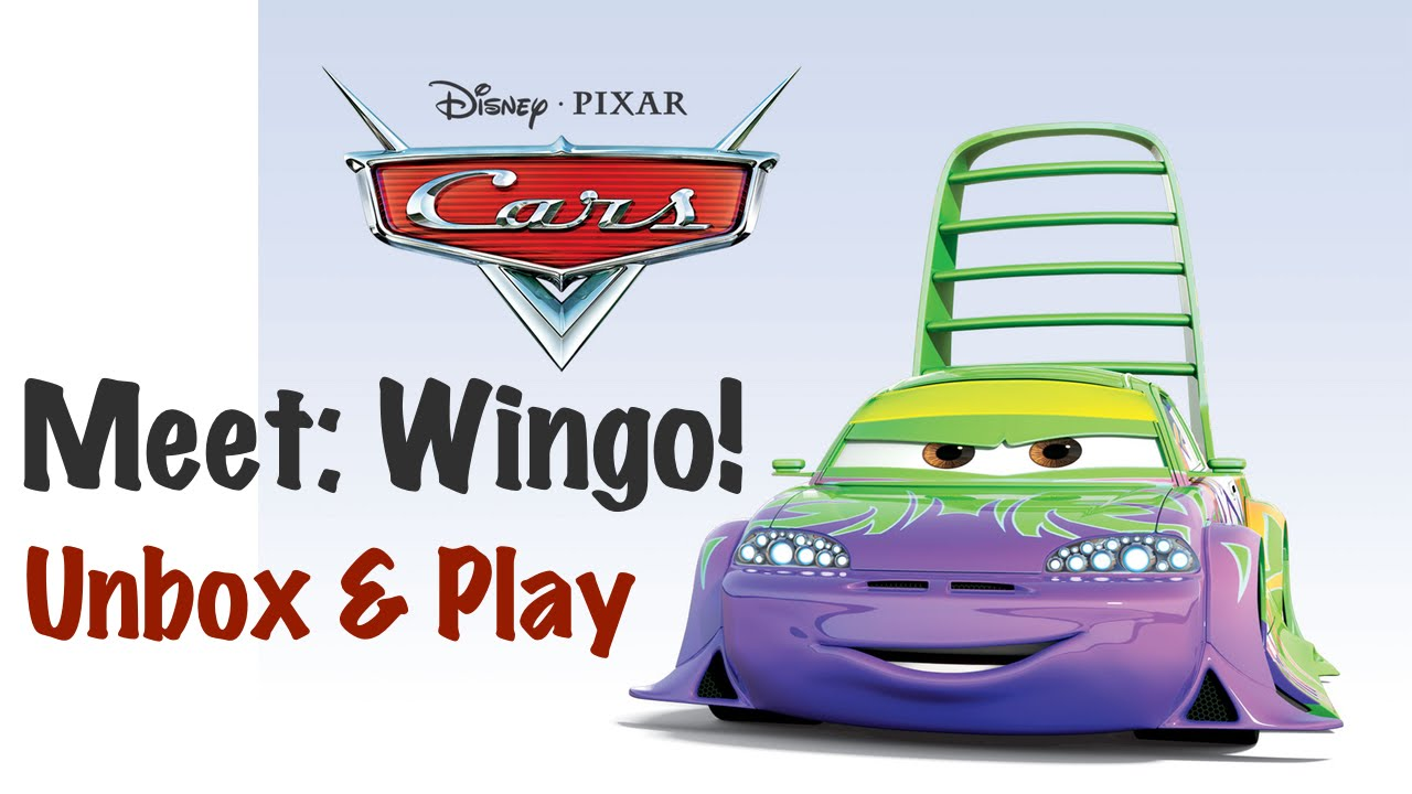 Disney pixar cars wingo unboxing and play mattel tuners diecast collection youtube - Coloriage cars wingo ...