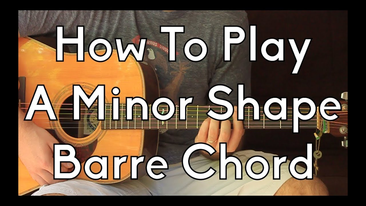 How to play am chord on guitar
