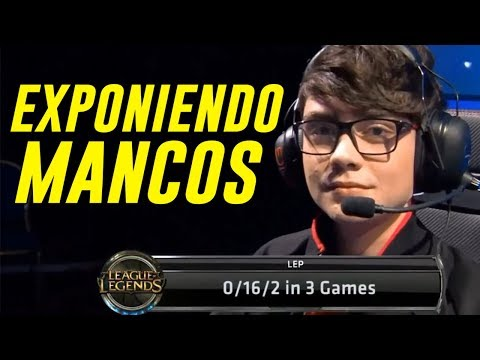 "EXPONIENDO MANCOS: ""EL DELINCUENTE DE LEAGUE OF LEGENDS* EP1 thumbnail"
