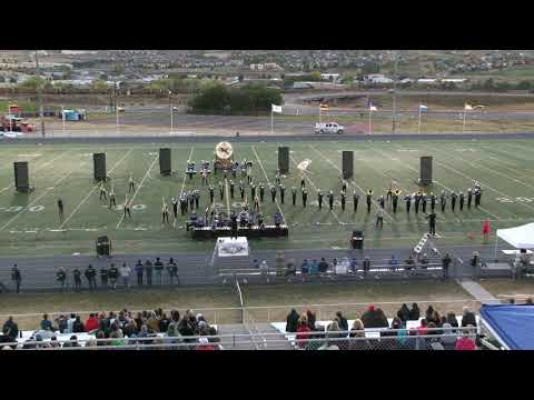 2018 HRHS Falcon Regiment - Trapped in Time - Douglas County Marching Invitational Evening 10/13