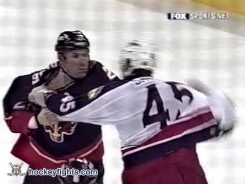 Craig Berube vs Jody Shelley Dec 19, 2002