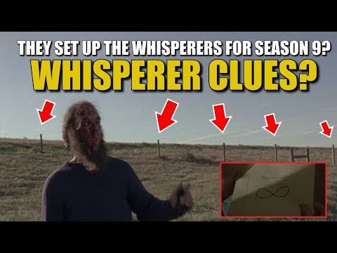 The Walking Dead Season 8 Episode 16 Whisperer Clues Evidence & Discussion - TWD 816 Whisperer Clues
