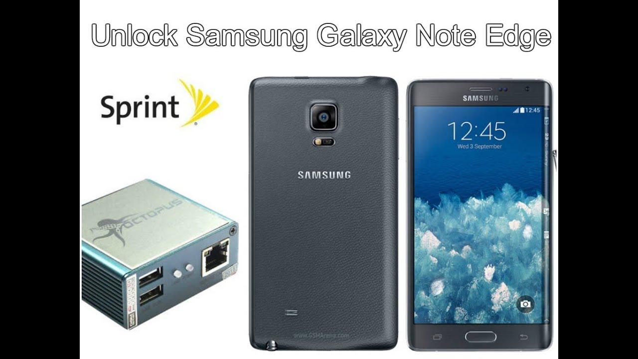 Unlock Samsung Galaxy Note Edge Sprint N915p 5 1 1 Con