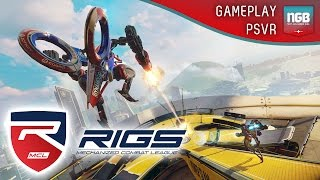 PlayStation VR - RIGS: Mechanized Combat League Gameplay