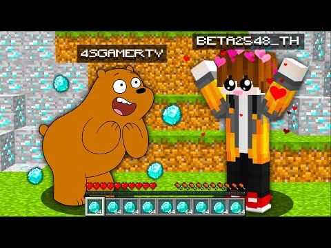 แปลงร่างเป็น หมีกริซลี่ จากเรื่อง 3 หมีจอมป่วน ลองขายตัวเองราคาถูก ใครซื้อจะได้ของOP!! (Minecraft)
