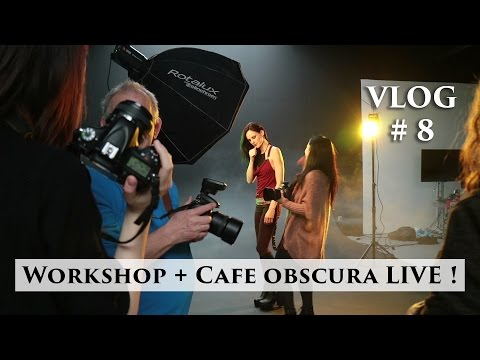 Gluren bij Richard Terborg workshop + Cafe Obscura Live bijwonen ! | Vlog #8