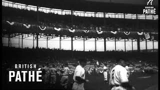 Us Baseball Season Opens (1950)