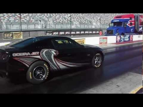 2013 Ford Mustang Super Cobra Jet - First Pass Off Showroom Floor !