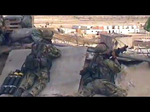 SOMALIA: HEAVY GUNFIRE AS UN TROOPS WITHDRAW