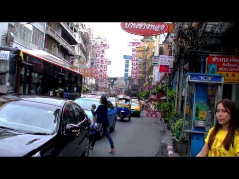 2017 曼谷自由行 - 昭拍耶河(湄南河)N5 Ratchawong碼頭步行往中國城Yaowarat Road ถนนเยาวราช