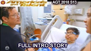 Michael Ketterer as Nurse with Children FULL INTRO STORY America's Got Talent 2018 Semifinals 1 AGT