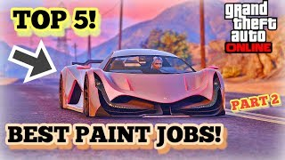 TOP 5 AWESOME PAINT JOBS FOR THE NEW DEVESTE 8 ( DEVEL 16 ) PART 2!! | GTA 5 ONLINE