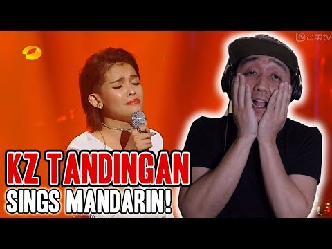 KZ TANDINGAN SINGS CHINESE (MANDARIN) CLEAR AUDIO Episode 6 Singer 2018 [Reaction]