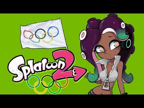 Splatoon 2 2018 Winter Olympics!