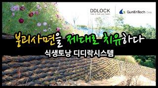 절개지 붕괴사면보강 식생토낭 보강토옹벽시스템 - eco…