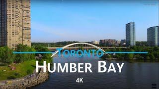 Humber Bay - Toronto, Ontario 🇨🇦 | 4K drone footage