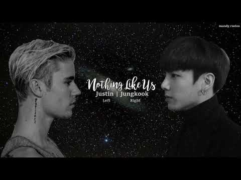 Nothing Like Us (Split Audio/Mash Up) Justin Bieber | Jeon Jungkook